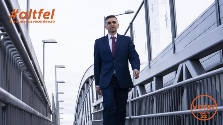 """Marius Vecerdea: """"Cred că sibienii merită un deputat independent, dedicat sportului sibian"""""""